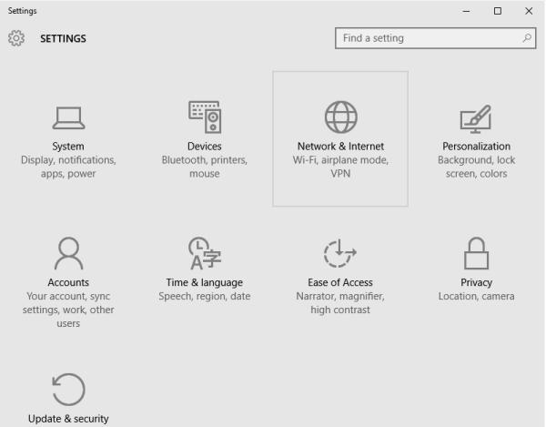 نصب VPN روی ویندوز 10 تبلت و کامپیوتر
